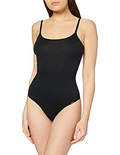 Skiny Damen 081509 Formender Body, Schwarz (Black 7662), 36