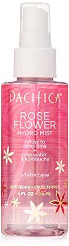 Pacifica Beauty Rose Flower Hydro Mist, 4 Fluid Ounce