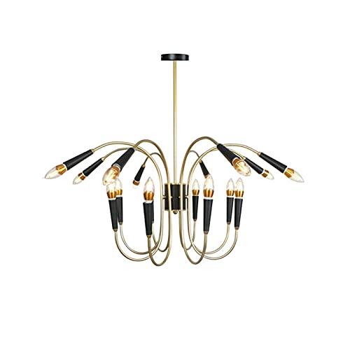 Moderna Semplicità Multi-testa in metallo del soffitto del lampadario a bracci creativo di modo E14 Lampadario plafoniere Montaggio luci che illuminano il Creare per Bedside coperta Doorway Testata Ru