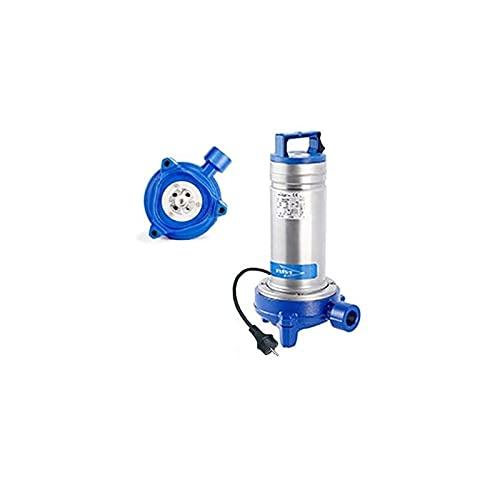 Flygt - Bomba de agua usada Delinox DXGM2511SG 1,1 kW con triturador de hasta 7 m3/h monofásico 220 V