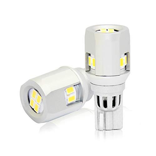 Lampada Led T15 W16W ,12V 6W, No Polarita 900 Lumen 360°,Canbus No Errore Per Luci Retromarcia Auto Moto