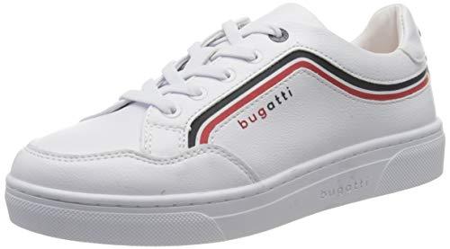 bugatti Damen 436877075069 Sneaker, Weiß (White/Red 2030), 42 EU