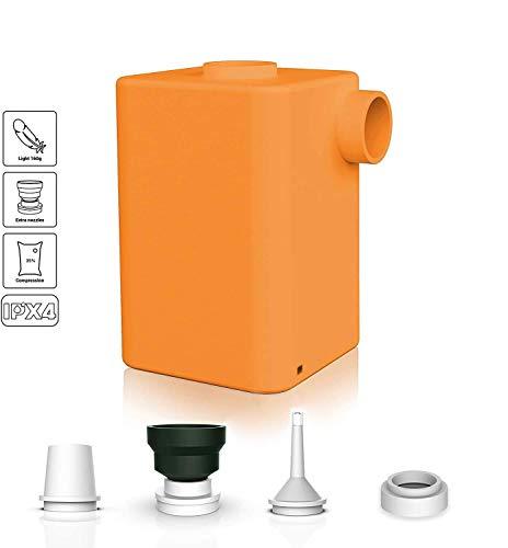YLOVOW Batterie-Luftpumpe, Tragbare USB Aufladbare Inflator/Deflator Mit 3600Mah, Schnell Aufblasen Deflate Für Inflatables Wie Pool Floats, Luftmatratze, Schwimmring