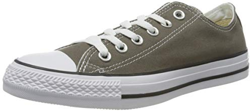 Converse Unisex-Erwachsene Chuck Taylor All Star-Ox Low-Top Sneakers, Grau (Charcoal), 38 EU