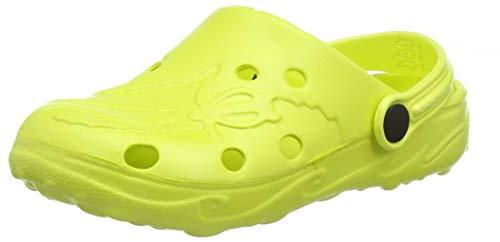 BECO Kinderclogs / Badeschuhe Schildi lemon 30