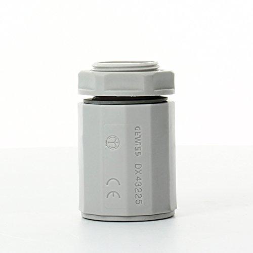 Gewiss ms - Racor tubo/caja entrada rapido morbidx ms diámetro 25