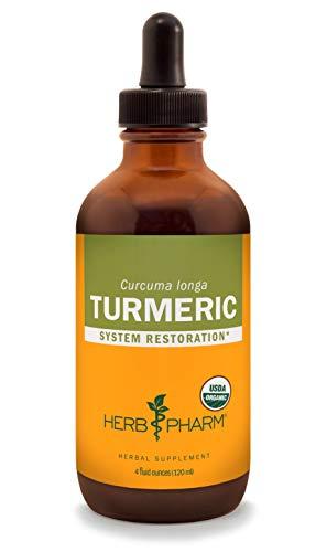 Herb Pharm Certified Organic Turmeric Root Liquid...
