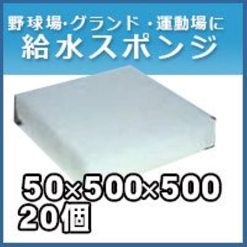 賠償石鹸非武装化ノーブランド品 給水スポンジ スイトール グランド用品 50×500×500 20個入りセット