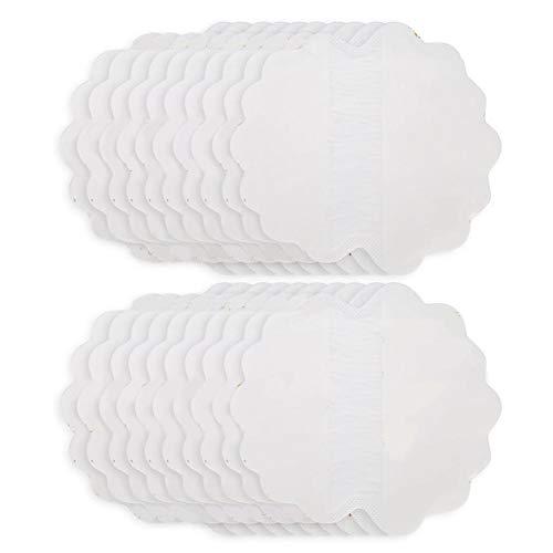 Almohadillas de sudor de axila premium de 20 piezas para mujeres y hombres, pegatinas de sudor de axilas transpirables de verano Almohadillas de sudor para axilas ultrafinas Protección de axilas
