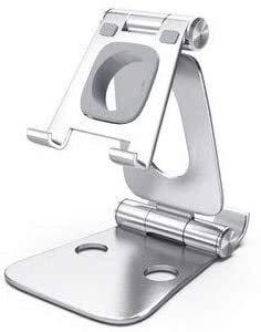 Stands La moda del teléfono de la cuna universal del reloj de la tableta plegable titular multi-ángulo de escritorio de la cuna ajustable de carga del teléfono para el escritorio Ban Lu Yi