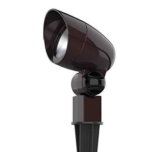 Malibu Equinox LED Low Voltage Floodlight 3 Watts Landscape Lights Outdoor Spotlight Waterproof Lighting for Driveway, Yard, Lawn, Flood, Garden, Outdoor Lighting 8409-1607-01