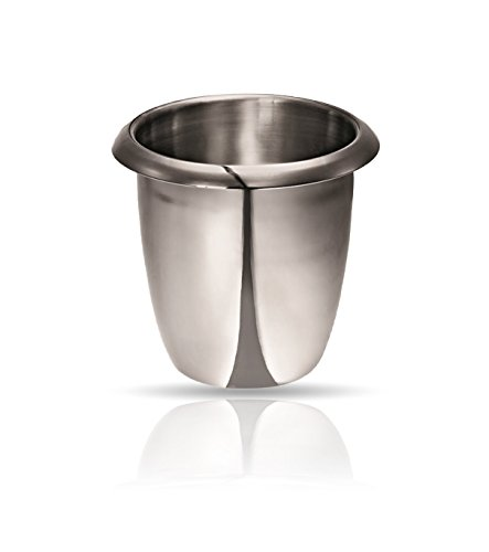 Kerafactum® Flessenkoeler, wijnkoeler, koeler voor champagne, champagne, champagne, champagnekoeler, ijsemmer van roestvrij staal