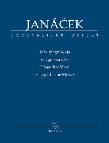 Glagolitische Messe (Mšsa glagolskaja): Fassung letzter Hand. Studienpartitur