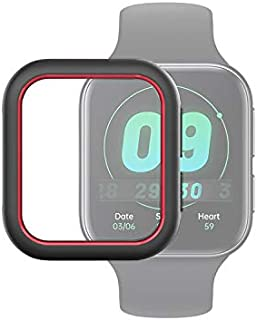 Watch Case Covers Compatible for Oppo Watch 41mm Smart Watch TPU Protective Case, Color:Black+Red