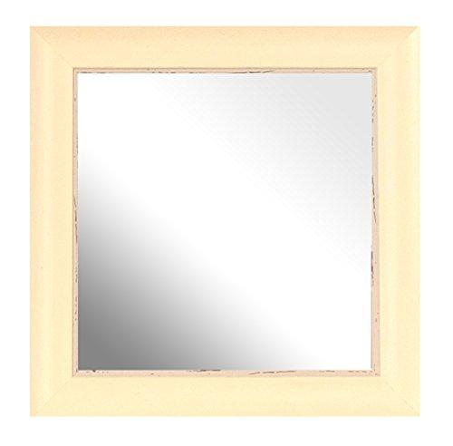 Innov8 spiegellijsten SML wassen crème 12 x 12 4 stuks, beige, 4 stuks