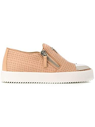 GIUSEPPE ZANOTTI Luxury Fashion Design Womens Slip ON Sneakers Summer Beige