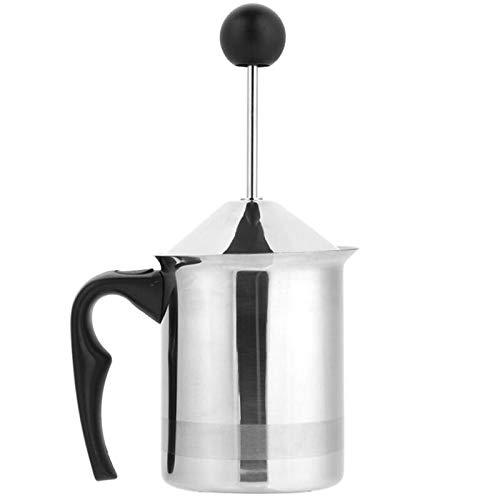 acier inoxydable manuel mousseur à lait mousse fabricant café lait Double maille lait crémier mousse crémier appareil de cuisine
