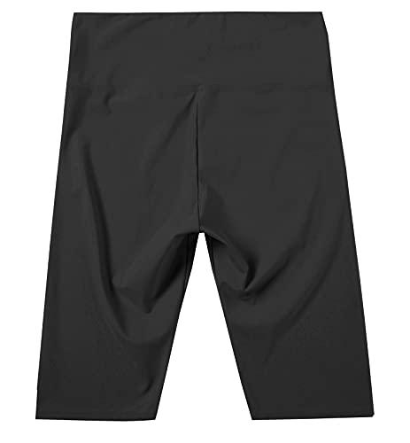 JOPHY & CO. Donna Leggings sopra Il Ginocchio Corti Elasticizzati Pantaloncini sotto Vestiti (cod. 9821) (Nero, S)