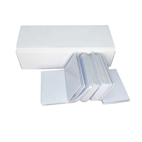Tintenstrahl PVC Karten (200 Stück) Bedruckbar und Wasserdicht Kompatibel für alle Tintenstrahl Drucker Drucken,Doppelseitig Bedruckbar
