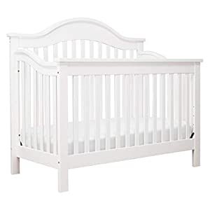 DaVinci Jayden 4-in-1 Convertible Crib in White | Greenguard Gold Certified