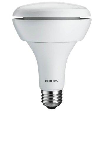 Philips 429415 - 9.5-Watt (65W) BR30 Indoor Soft White (2700K) LED Flood Light Bulb