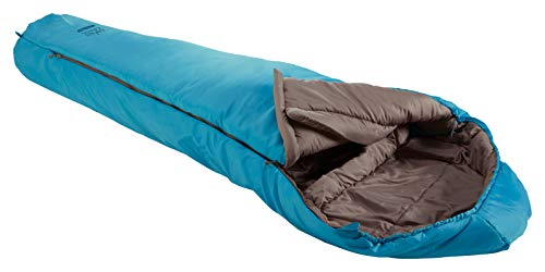 Grand Canyon Fairbanks - Warmer Mumienschlafsack, 3-Jahreszeiten, Extrem: -21°, Unterseite wasserabweisend, bis Körpergröße 190 cm, für Camping, Outdoor, Survival, Trekking, Caneel Bay, 340006