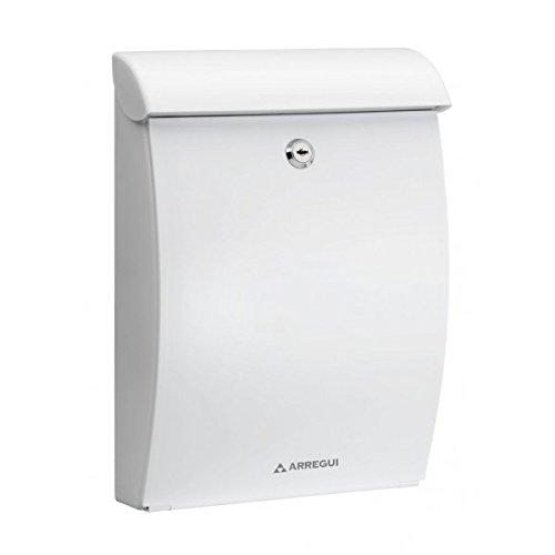 Arregui Mininova–Briefkasten für den Außenbereich Kunststoff Mininova e-5330weiß