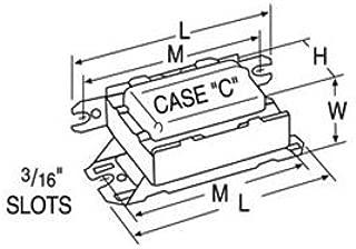 Advance LC-13-TP - (1) Lamp Fluorescent Ballast - 13 Watt CFL - 120 Volt - Preheat Start - 0.9 Ballast Factor