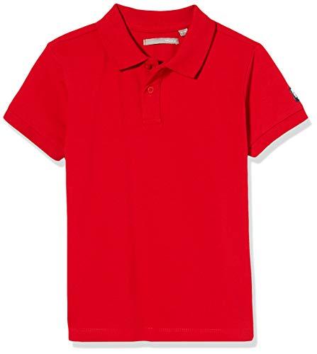 Mexx Jungen 952326 Poloshirt, Rot (Barbados Cherry 191757), 122/128 (Herstellergröße: 122-128)