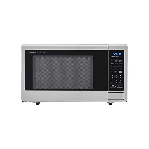 Sharp XL Family 2.2 Cu Ft Stainless Steel Microwave Oven (Certified Refurbished)