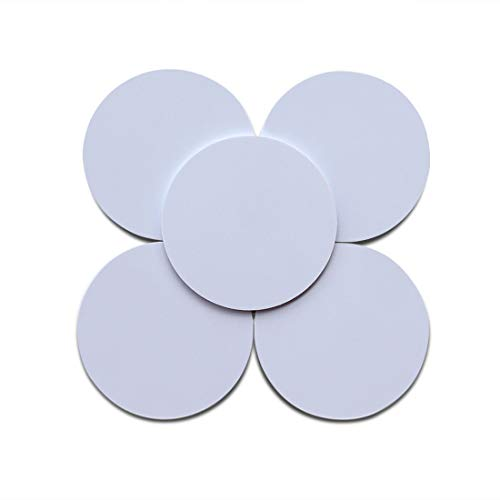 10pcs Ntag215 NFC Coin Card,Blank White NTAG 215 Tags are Compatible with TagMo Amiibo and All NFC-Enabled Devices, Writable and Programmable