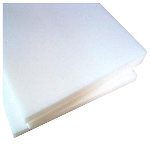 Emmevi - Placa de espuma de poliuretano expandido de alta densidad, - Ideal para rellenar camas, sofás, sillas, tumbonas
