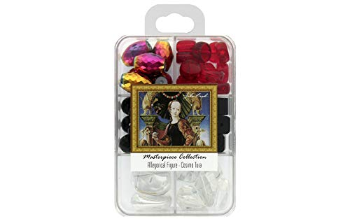 John Bead Corporation Glasperlen-Box, Allegorische Figur – Cosimo Tura