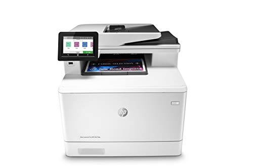 HP Color LaserJet Pro Multifunction M479fdn Laser Printer with One-Year, Next-Business Day, Onsite Warranty, Works with Alexa (W1A79A) – Built-in Ethernet