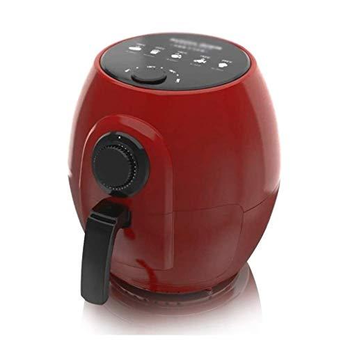 WZHZJ De Gran Capacidad Antiadherente Pan Air Fryer, Perilla de Control del Tiempo de Trabajo, Ajuste de Temperatura, 360 ° de Alta Velocidad Aire Ciclo térmico