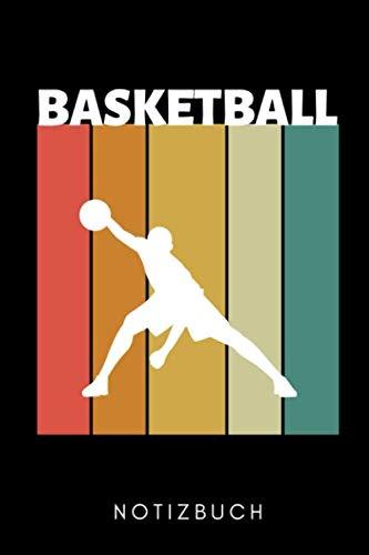 BASKETBALL NOTIZBUCH: A5 WOCHENKALENDER Basketballbuch | Basketballer Geschenke | Zubehoer | Sport | Training | Basketballbuecher | Geschenkideen für Kinder und Sportler