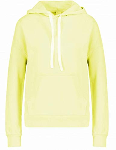 BOSS TELEFVI 741 - Felpa con cappuccio in cotone sbiancato, colore: Giallo giallo. S