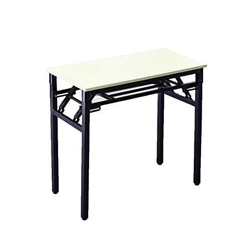 QYT-80x60cm, Schreibtisch Klapptisch Computertisch Büromöbel PC Tisch, Stabil Bürotisch Konferenztisch Klappbar für Zuhause, Büro, Picknick,B