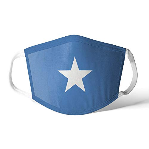 M&schutz Maske Stoffmaske Mittel Afrika Flagge Somalia/Somalisch Wiederverwendbar Waschbar Weiches Baumwollgefühl Polyester Fabrik