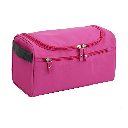 Csheng Neceser Mujer Viaje Neceser Maquillaje Bolsas de Viaje para Mujer Neceser de Viaje para Hombre Bolsas de Maquillaje para Mujer Bolsas de Viaje Rose Red,One Size