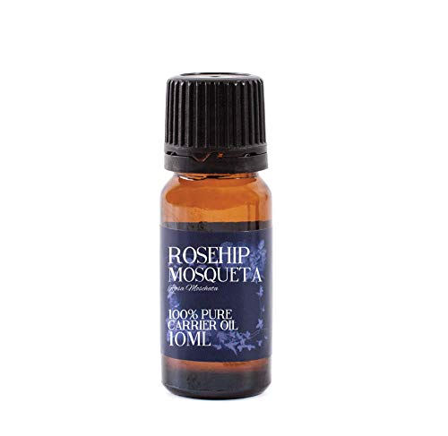 Mystic Moments - Aceite Portador de mosqueta de mosquetón (10 ml, 100% Puro)