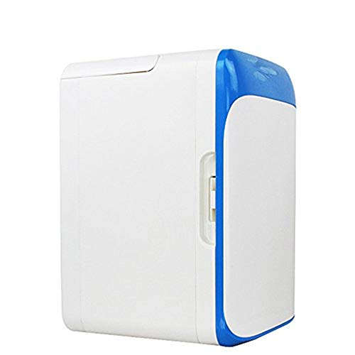 Mini koelkast XYBB Car Mini Refrigerator Blue White Auto Fridge Car Refrigerator Small Dual-use Car/Home Cooler Box Freezer 24 * 25 * 36cm White Blue