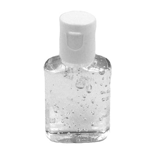 bulk hand sanitizer minis FASHIONCRAFT 5106 Hand Sanitizer Bottle Favors from The Perfectly Plain Collection, Bulk Hand Sanitizer, 0.5 oz Mini Size, Pack of 50