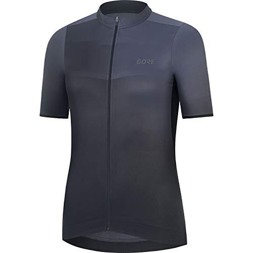 GORE WEAR Maillot Ardent para mujer, GORE Selected Fabrics, 34, Gris azulado/Negro