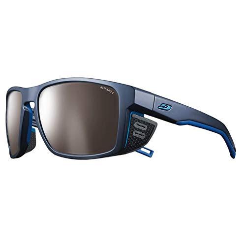 Julbo Shield M Gafas, Unisex Adulto, Azul Oscuro y Azul, Talla única