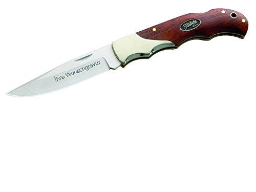 Herbertz Taschenmesser, Stahl 440 mit persönlicher Wunschgravur