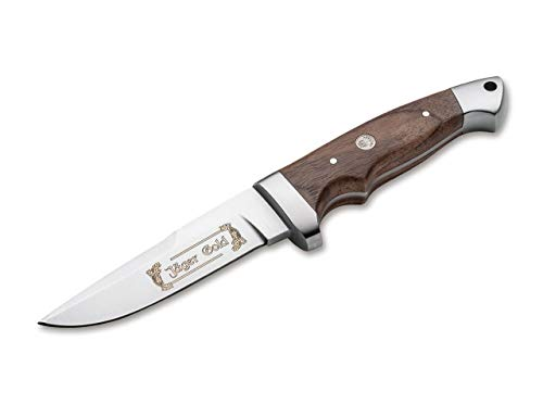 Böker Vollintegral 2.0 Jäger Gold Feststehendes Messer