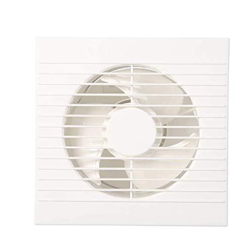 XZJJZ Extractor, Ventilador de ventilación, de Perfil bajo, Extremadamente, 6 Pulgadas baño Circular Ventilador de ventilación