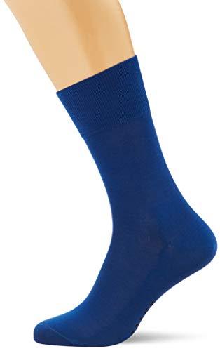 FALKE Herren Socken Tiago - 95% Baumwolle, 1 Paar, Blau (Sapphire 6055), Größe: 47-48