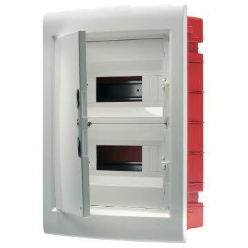 Gewiss GW40889 caja electrica - Cuadro eléctrico (Naranja, Color blanco, 465 mm,...